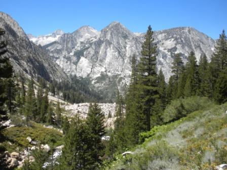 Bubbs Creek Canyon