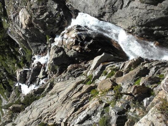 Falls on Bubbs Creek