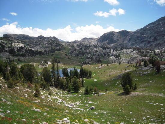 Lozier Lake basin