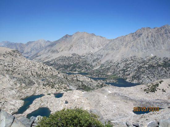 View from Glen Pass