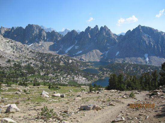 View from Kearsarge Trail
