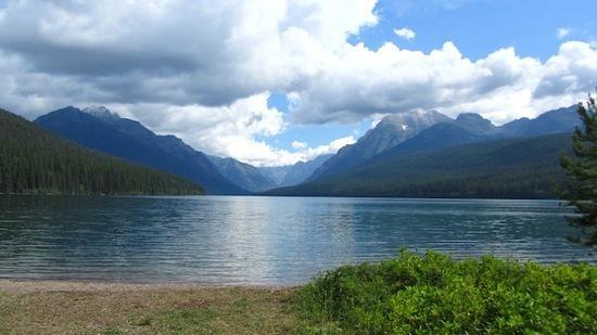 bowman lake trailhead