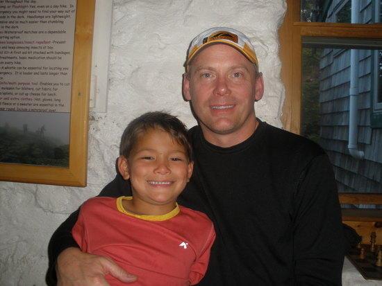 Chris & me