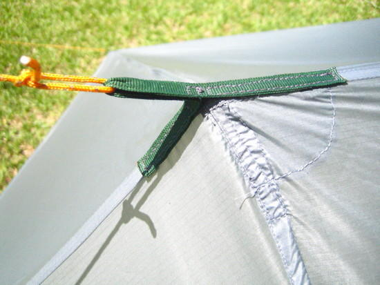 Tarp Tie Out Ridge Line
