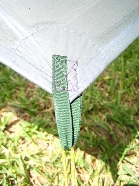 Tarp Tie Out Corner