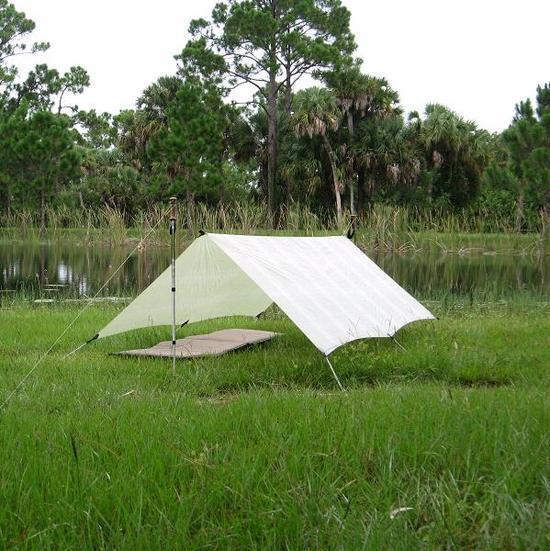 Mountainfitter paklight cuben fiber ctf3 7'x9' tarp