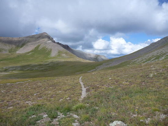 Hiking along the CDT