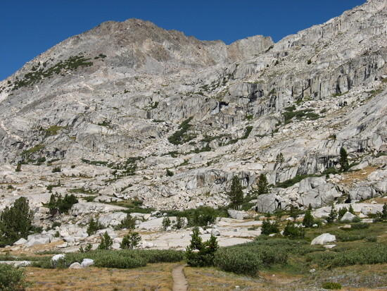 SHR from JMT (Palisades Lake area)