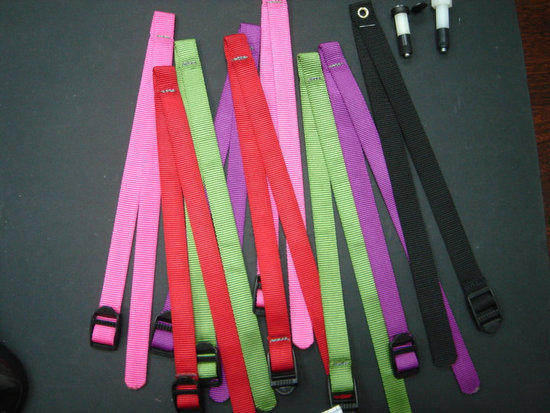 color strap for AGP