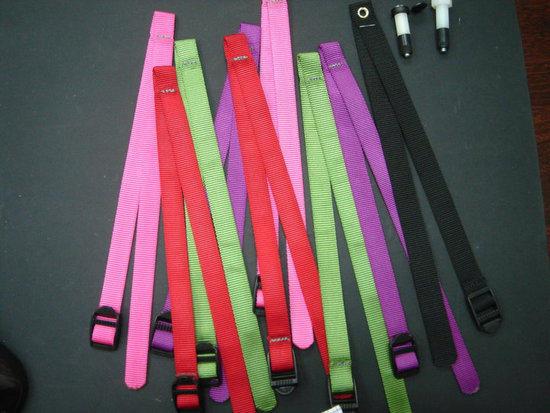 color strap for AGP