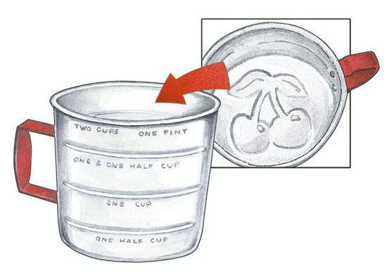 Gooseberry Patch aluminum cup