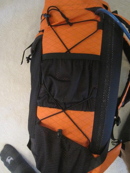 Side pocket configuration
