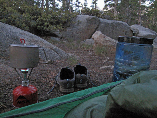 Morning View From tthe Bivy