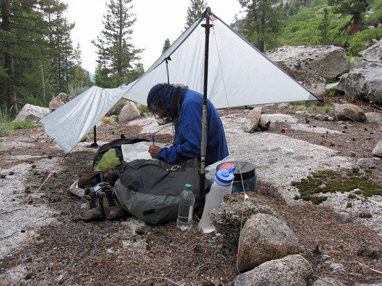Jeremy's MLD Poncho Tarp & Superlight Bivy