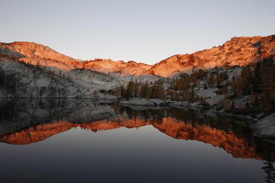 Sunrise at Leprechaun Lake