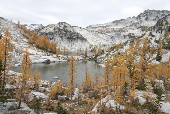 View over Sprite Lake