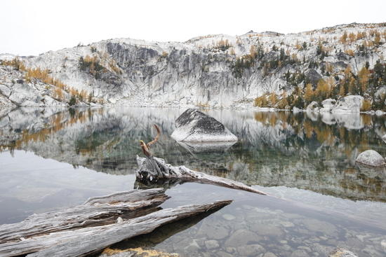 Lake Viviane on the way out