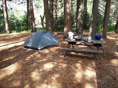 backpacker campground