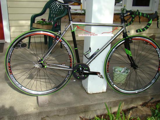 single speed touring bike