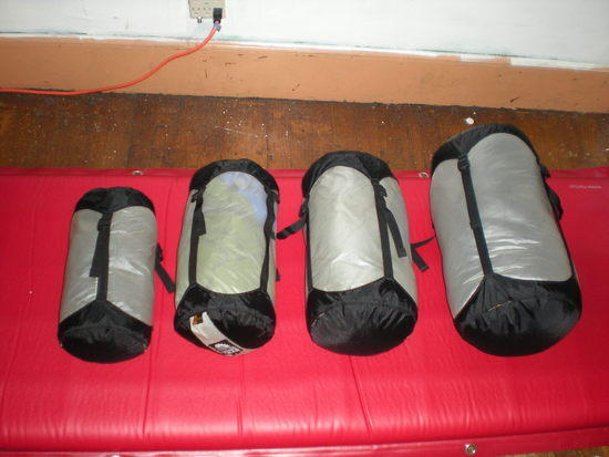 compressor stuff sacks