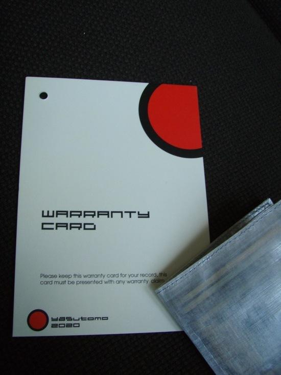 warranty front