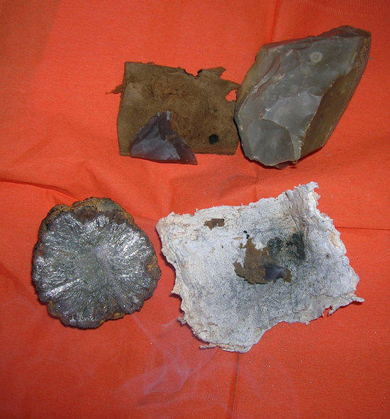 Pyrite, Flint, and Tinder Fungus Firemaking