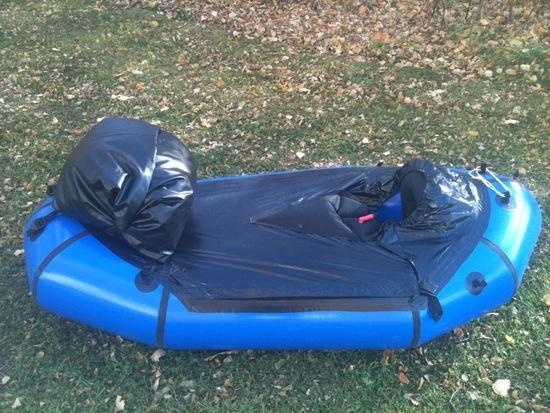 Packraft bow bag 2