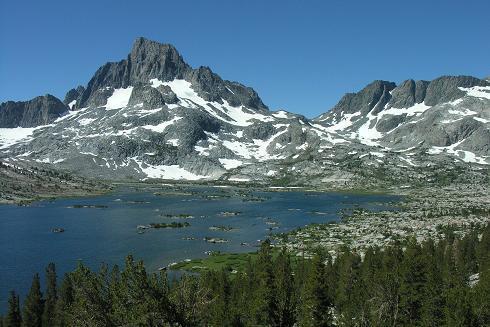 1000 Island Lake, Banner Peak, Ritter Range