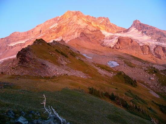 Mt. Hood alpenglow
