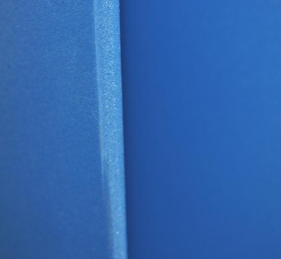 Photo of the mystery blue foam