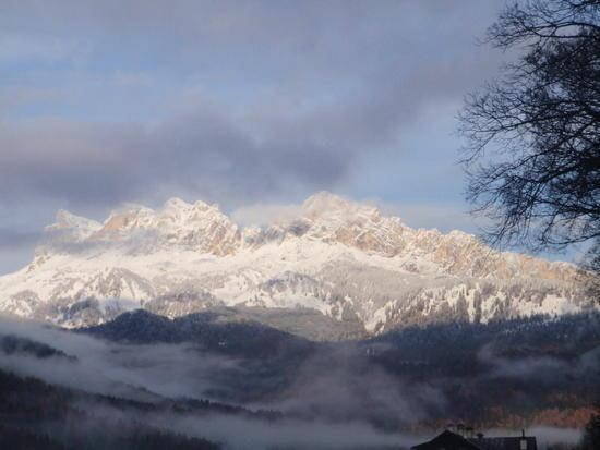 Mountains near Cortina