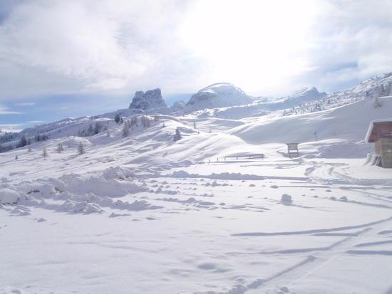 Direction I hiked (postholed)