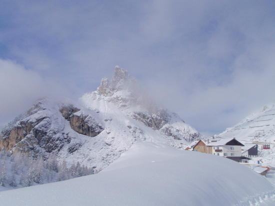 Peak at Passo Falzarego