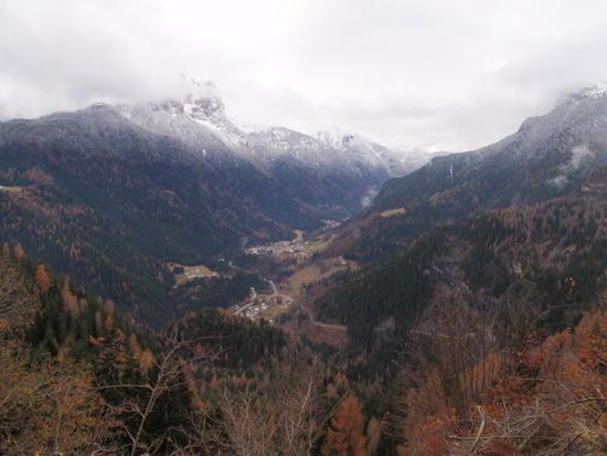 Italian village in the valley