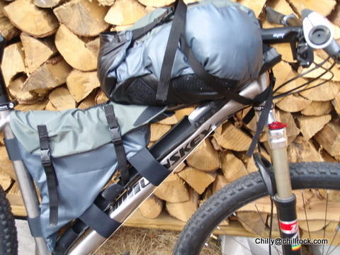 kydex fly rod case tank bag and triangle bag