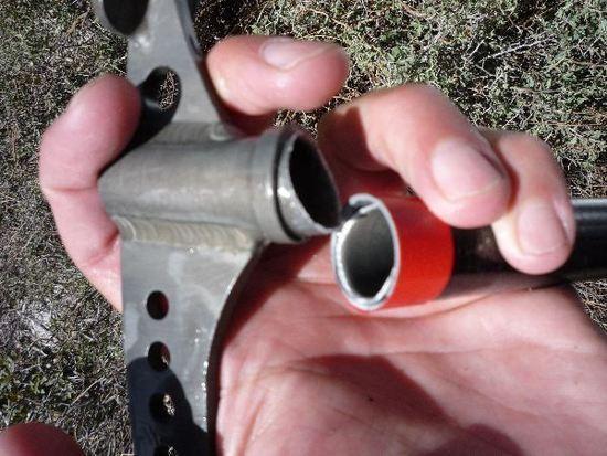 Broken ULA Helix Ice Axe Potty Trowel