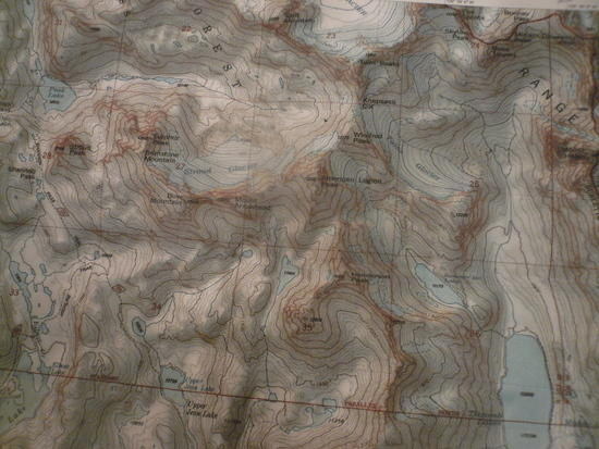 Knapsak col map