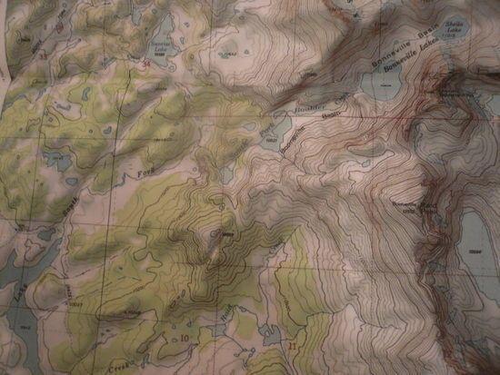 Bonneville map