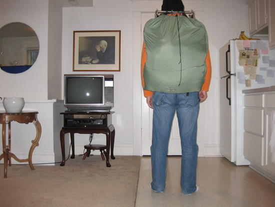 Pack with shoulder straps