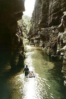 Wollangambee Canyon B Jan 94 S