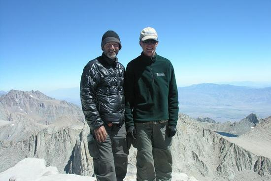Me and Dillon on top of Whitney