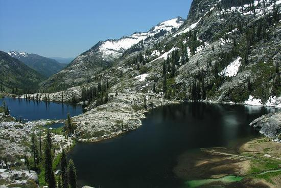 Canyon Creek Lakes in the Trinity Alps