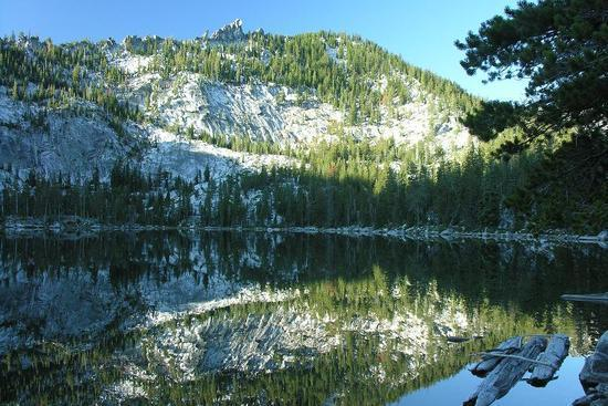 Big Duck Lake in the Marble Mountain Wilderness