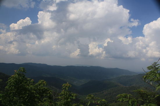 View from Clingman's Dome - August 2010