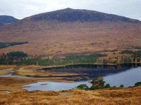 Loch Tulla and Beinn Toaig