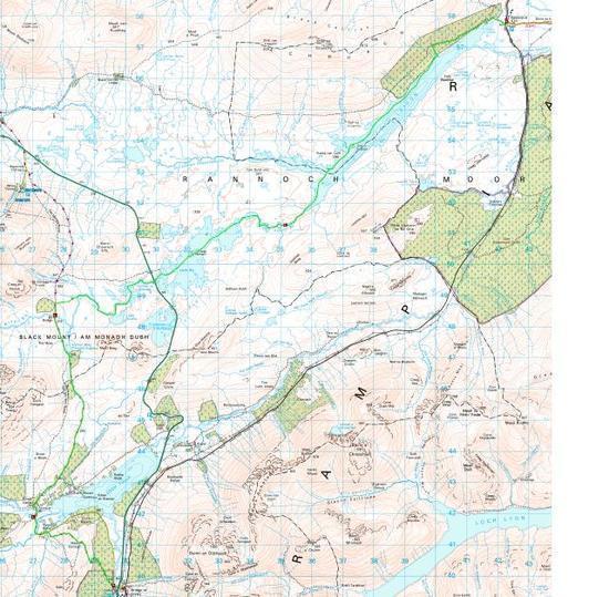 Rannoch Map