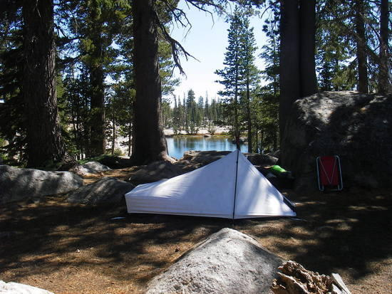 Tarptent Sublite at Chewing Gum Lake - Emigrant Wilderness