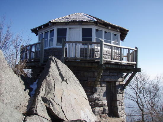 Mt. Cammerer Fire Lookout (TN/NC) Jan 2010