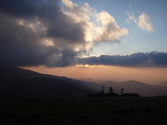 Roan Mtn Sunset