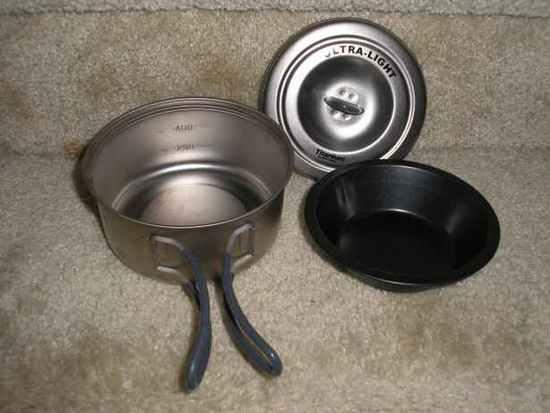 pot, pot lid, and pan